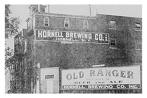 Hornell Brewing Company, Evening Tribune photo.