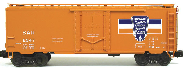 Bangor and Aroostook Railroad 40' PS-1 Insulated Plug-door Boxcar