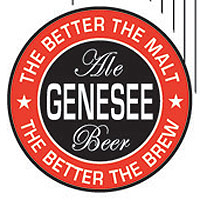 Pre-WWII logo for Genesee Ale and Beer, The better the malt, the better the brew
