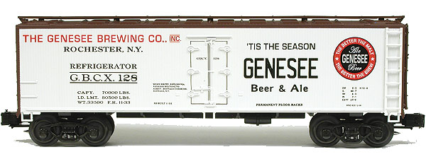 Genesee Brewing Co. refrigerator car